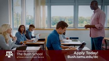 Bush School of Government and Public Service TV Spot, 'Master of International Policy' - Thumbnail 5