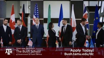 Bush School of Government and Public Service TV Spot, 'Master of International Policy' - Thumbnail 8