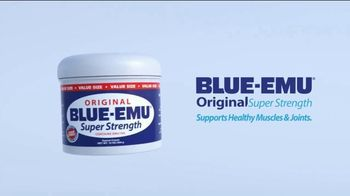 Blue-Emu Super Strength TV Spot, 'Three Convenient Sizes'