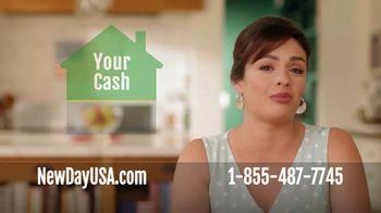 NewDay 100 VA Cash Out Loan TV Spot, 'Veteran Homeowners: Borrow Up to 100%' - Thumbnail 4