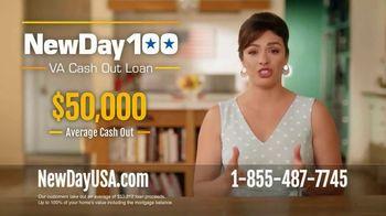 NewDay 100 VA Cash Out Loan TV Spot, 'Veteran Homeowners: Borrow Up to 100%' - Thumbnail 6