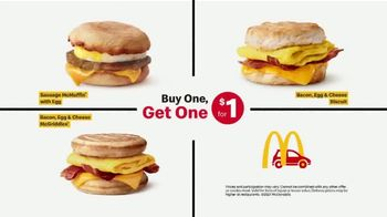 McDonald's Buy One, Get One for $1 TV Spot, 'Say Yes to Breakfast' - Thumbnail 5
