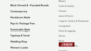 Nordstrom TV Spot, 'In the Know: Sustainability' - Thumbnail 5