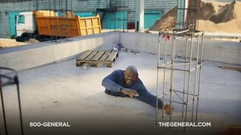 The General TV Spot, 'Buried in Cement' Featuring Shaquille O'Neal - Thumbnail 1