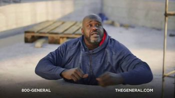 The General TV Spot, 'Buried in Cement' Featuring Shaquille O'Neal - Thumbnail 2