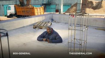 The General TV Spot, 'Buried in Cement' Featuring Shaquille O'Neal - Thumbnail 4