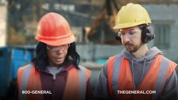 The General TV Spot, 'Buried in Cement' Featuring Shaquille O'Neal - Thumbnail 8