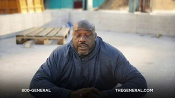 The General TV Spot, 'Buried in Cement' Featuring Shaquille O'Neal - Thumbnail 9