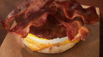 Tim Hortons Double Stacked Breakfast Sandwiches TV Spot, 'Fully Packed' - Thumbnail 2
