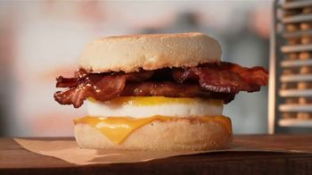 Tim Hortons Double Stacked Breakfast Sandwiches TV Spot, 'Fully Packed' - Thumbnail 3