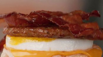 Tim Hortons Double Stacked Breakfast Sandwiches TV Spot, 'Fully Packed' - Thumbnail 7