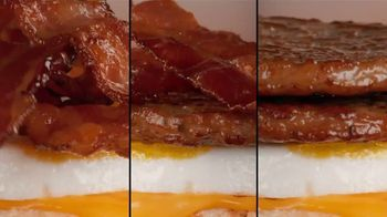 Tim Hortons Double Stacked Breakfast Sandwiches TV Spot, 'Fully Packed' - Thumbnail 8