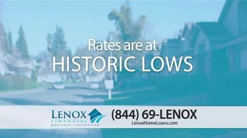 Lenox Financial Mortgage TV Spot, 'Historically Low Rates: There's Still Time' - Thumbnail 2