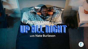 Progressive TV Spot, 'Up All Night' Featuring Nate Burleson, Ja'marr Chase, Justin Fields - 678 commercial airings