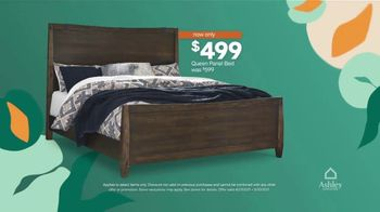 Ashley HomeStore TV Spot, 'Lowest Prices of the Season: Queen Bed and Save $1,000' - Thumbnail 4