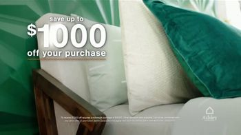 Ashley HomeStore TV Spot, 'Lowest Prices of the Season: Queen Bed and Save $1,000' - Thumbnail 6