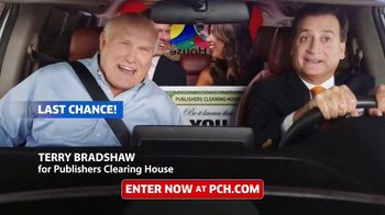 Publishers Clearing House TV Spot, 'Last Chance: 2 Days Left' Featuring Terry Bradshaw - 327 commercial airings