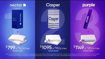 Rooms to Go Venta de Colchones TV Spot, 'NECTAR, Caspar y Purple' [Spanish] - Thumbnail 6