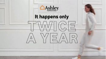 Ashley HomeStore Semi-Annual Sale TV Spot, 'Twice a Year: 40% to 60% Off' - Thumbnail 1