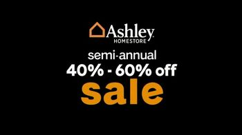 Ashley HomeStore Semi-Annual Sale TV Spot, 'Twice a Year: 40% to 60% Off' - Thumbnail 7