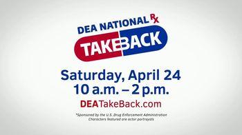 US Drug Enforcement Administration TV Spot, '2021 DEA Take Back Day' - Thumbnail 7