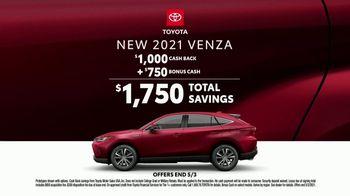 2021 Toyota Venza TV Spot, 'Dear Freedom: Onward' [T2] - Thumbnail 7