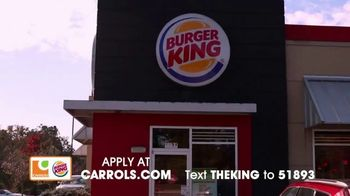 Carrols Corporation TV Spot, 'Never Just a Job' - Thumbnail 4