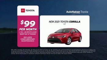 AutoNation Toyota TV Spot, 'Go Time: 2021 Corolla LE: $99' - Thumbnail 5