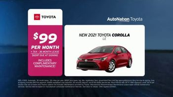 AutoNation Toyota TV Spot, 'Go Time: 2021 Corolla LE: $99' - Thumbnail 6