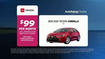 AutoNation Toyota TV Spot, 'Go Time: 2021 Corolla LE: $99' - Thumbnail 7