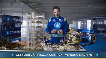 Carvana TV Spot, 'Giant Car Vending Machine' Featuring Jimmie Johnson - Thumbnail 1