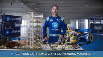 Carvana TV Spot, 'Giant Car Vending Machine' Featuring Jimmie Johnson - Thumbnail 3