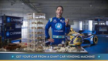 Carvana TV Spot, 'Giant Car Vending Machine' Featuring Jimmie Johnson - Thumbnail 4