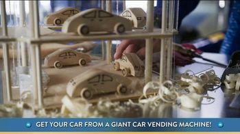 Carvana TV Spot, 'Giant Car Vending Machine' Featuring Jimmie Johnson - Thumbnail 7