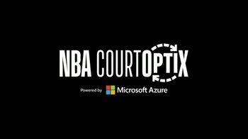 Microsoft Azure TV Spot, 'Dynamic Metrics Add a New Dimension to NBA Game Day' - Thumbnail 8