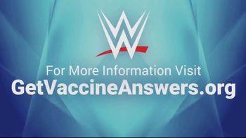 COVID Collaborative TV Spot, 'WWE: Get Vaccinated' Ft. Drew McIntyre, The Miz - Thumbnail 10