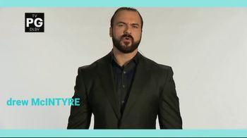 COVID Collaborative TV Spot, 'WWE: Get Vaccinated' Ft. Drew McIntyre, The Miz - Thumbnail 2
