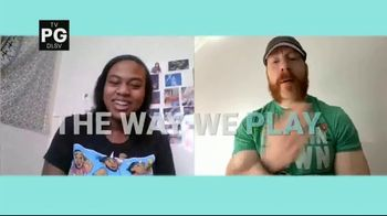 COVID Collaborative TV Spot, 'WWE: Get Vaccinated' Ft. Drew McIntyre, The Miz - Thumbnail 3