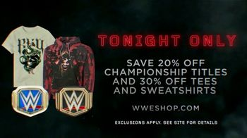 WWE Shop TV Spot, 'Bold, Inspired and Powerful: Save on Titles, Tees and Sweatshirts' - Thumbnail 6