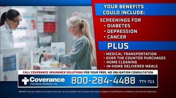 Coverance Insurance Solutions, Inc. TV Spot, 'Additional 2021 Medicare Benefits' - Thumbnail 8