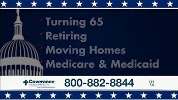 Coverance Insurance Solutions, Inc. TV Spot, 'Retiring Soon?: Additional Medicare Benefits' - Thumbnail 8