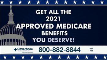 Coverance Insurance Solutions, Inc. TV Spot, 'Retiring Soon?: Additional Medicare Benefits' - Thumbnail 4