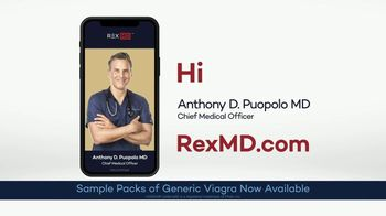 REX MD TV Spot, 'Doctor Anthony Puopolo: Sample Packs of Generic Viagra'