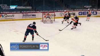 SAP TV Spot, 'Match-Up Insights: Capitals vs. Flyers' - 3 commercial airings