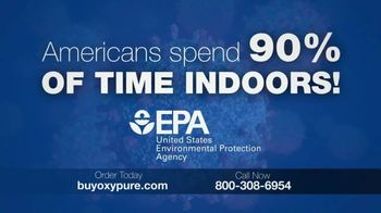 NuWave OxyPure Smart Air Purifier TV Spot, 'Americans Spend 90% of Time Indoors'