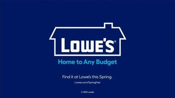 Lowe's Springfest TV Spot, 'Plants, Trimmers, Mowers and Mulch' - Thumbnail 9