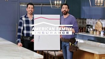 American Family Insurance TV Spot, 'Renovation' Ft. Drew Scott, Jonathan Scott - Thumbnail 1