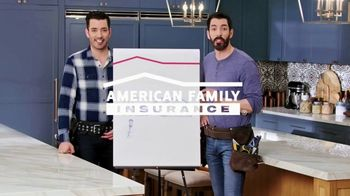 American Family Insurance TV Spot, 'Renovation' Ft. Drew Scott, Jonathan Scott - Thumbnail 2