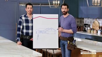 American Family Insurance TV Spot, 'Renovation' Ft. Drew Scott, Jonathan Scott - Thumbnail 4