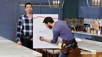 American Family Insurance TV Spot, 'Renovation' Ft. Drew Scott, Jonathan Scott - Thumbnail 5